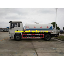 180HP 11m3 SHACMAN Water Tanker Trucks