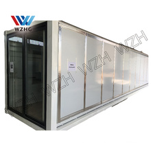 Portable Australia standard 20ft expandable container prefab eps sandwich panel container home quick assembly home