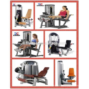 Fuerza profesional de la máquina de la aptitud Equipo del gimnasio / extensión de la pierna