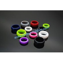 OEM Fashion Non-Toxic Silicone Finger Wedding Ring