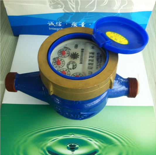 Multi-Jet Brass Dry Dial Type Water Meters