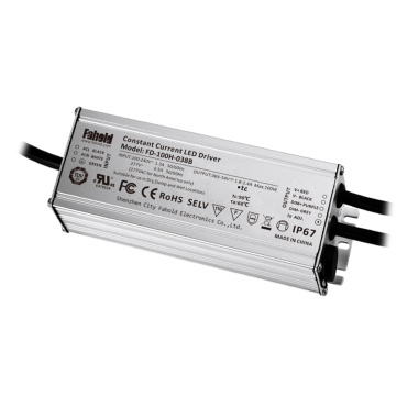 UL waterproof led driver 100W 4A