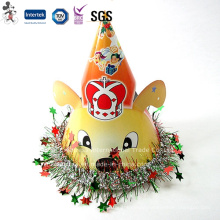 Factory Cheap Price Birthday Cap with Star Decoration