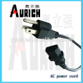 UL Standrad populaire câbles PVC Electrica avec puissance powerwire 125V