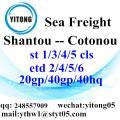 Shantou Logistics Services to Cotonou