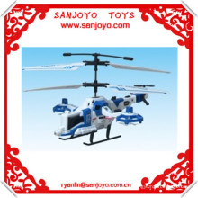 El regalo de la Navidad empaqueta al por mayor la función de vuelo lateral del helicóptero del rc de los juguetes 4ch y el LED