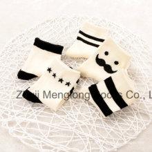 Bom aspecto clássico Design listras meias de algodão de meninos