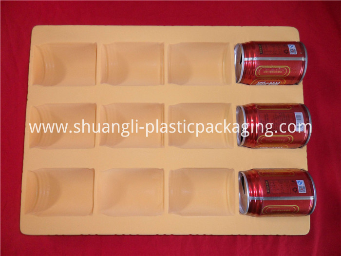Flocking Plastic Drink Tray