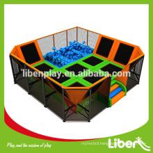 Customiz Foam pit pool Children Indoor gymnastics Trampoline Park for Amusement                                                                 Most Popular