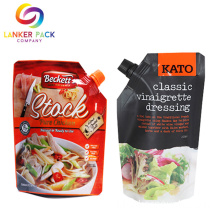Food Spade Sauce Spout Pouch Tomato Packaging