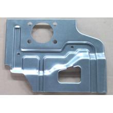 Parte de la placa de estampación en material de acero