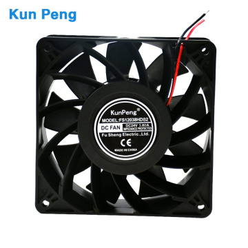 12038 120*120*38mm 24volt brushless axial flow welding machine cooling fan