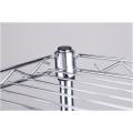 Bricolage 4 étages en métal chromé en acier inoxydable (CJ-C1035)