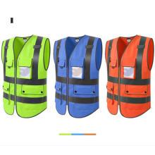 Gilet réfléchissant de sécurité pour vêtements de travail
