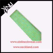Men Custom Animal Pattern Silk Screen Printing Necktie