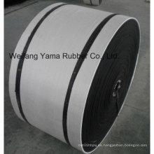 Cinta transportadora de goma con espesor de la cubierta superior 4 mm Espesor de la cubierta inferior 2 mm