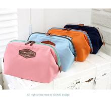 Multifuncional Moda Pano De Algodão Coréia Lovely Portable Cosmetic Bag