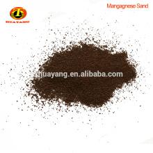 Bajo precio de buena calidad manganeso greensand medios de filtro para la venta