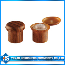 2015 New Style PP Material Wooden Screw Bottle Cap
