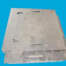 Sand Blasting Sheet Metal Part for Packaging Machinery (LH87)