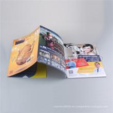 Servicios de impresión del libro del folleto del prospecto de encargo del proveedor de China