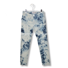 slim stretchy snow wash jeans