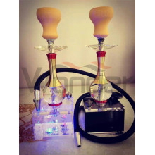 Chine Fabrication en acrylique Shisha Hookahs for Wholesale