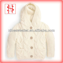 new solid colorbaby sweater design ribbed hoodie baby sweater