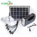 Espeon New Model Portable Schwarz Poly Panel Mini Hause Solar Power System