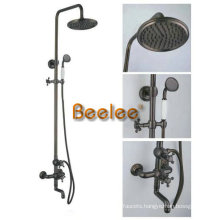 Antique Brass Bathroom Shower Set