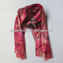 YS257-261 красный полиэстер шарф kaimenhong