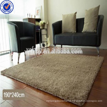 Microfiber tufted self-adhesive non-slip stair treads floor rug