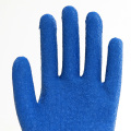 Polyester Shell Latex Coated Firm Safety Gloves
