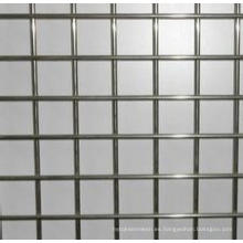 Placa de malla de alambre soldada cuadrada galvanizada