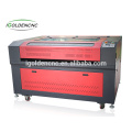 igoldencnc cheap price double heads fabric laser engraver and cutter