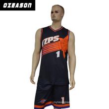 Sportswear Manufacturer Custom Reversible Sublimation Basketball Jersey (BK002)