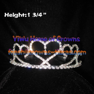 Heart Shaped Beauty Princess Tiaras and Crowns