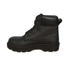 Ufb017 Black Army Military Safety Boots