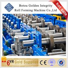 Structure métallique cz purlin roll formant machine pour faire la forme cz