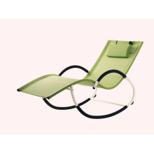High Quality for China Sun Loungers,Garden Sun Loungers,Folding Sun Loungers,Outdoor Sun Loungers Manufacturer and Supplier G shape steel frame rocking chair export to Panama Suppliers