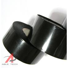 Good Scratch Resistance 25mm * 100m Black SCF 900 Hot coding Foil for ribbon Coding Machine Production Date Printing
