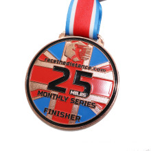 Customized Metal Crafts Zinc Alloy Medal for Souvenir Gift