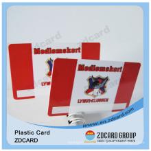 Пластиковые ПВХ ID карты/прозрачные визитная карточка