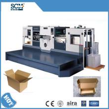 PVC / Gewebe / Wellpappe / Papierstanzen und Faltenmaschine