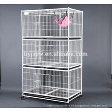Wire Cat Boarding Cage para Cat Show