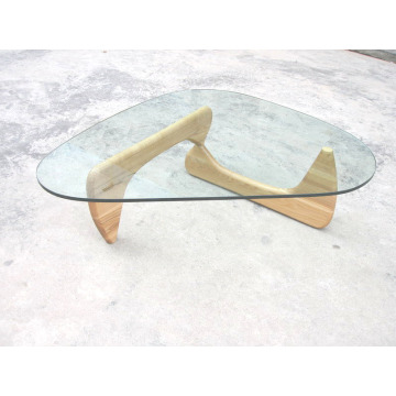 Isamu Noguchi Coffee Table con piano in vetro