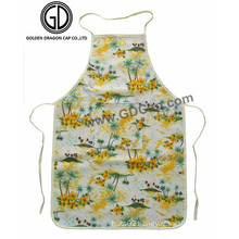 Beautiful Fashion Flower Pattern Lovely Women Housewife Artist Cooking Apron
