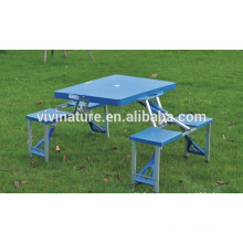 plastic folding picnic table and chair sets