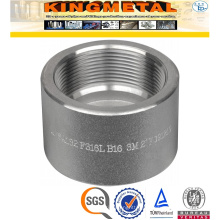 A105 Carbon Steel Pipe Fittings Threaded Half Coupling