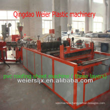 synthetic resin PVC corrugated roof making machine